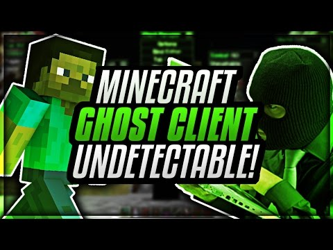 MINECRAFT BEST FREE GHOST CLIENT!! UNDETECTABLE! 1.7.10+   INJECTION CLIENT!   BYPASSES G CHEAT! #2