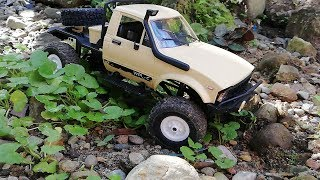 WPL C-14 RC 1/16 Offroad 4x4 Truck - Rock Crawling