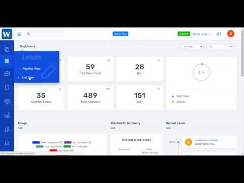 Wakeupsales CRM - How It Works