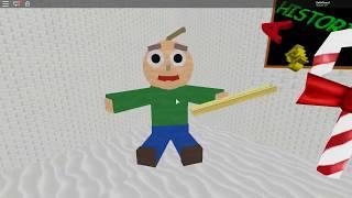 GAMEPLAY ROBLOX Baldi's Basics