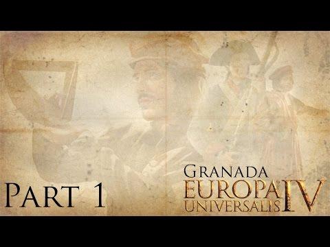 Let's Play - EU4 - Granada - Part 1