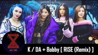 ¡K-POP EN LEAGUE OF LEGENDS!: K/DA + RISE (Remix) [Ft. Bobby de iKON]