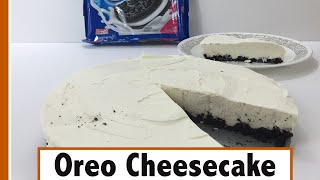Oreo Cheesecake using only 3 ingredients