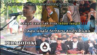 BIKIN SEMUA TAMU TERHARU !!! SINGLE TERBARU LAGU BUGIS ANDRI KHAN LIVE WITH AO PRODUCTION