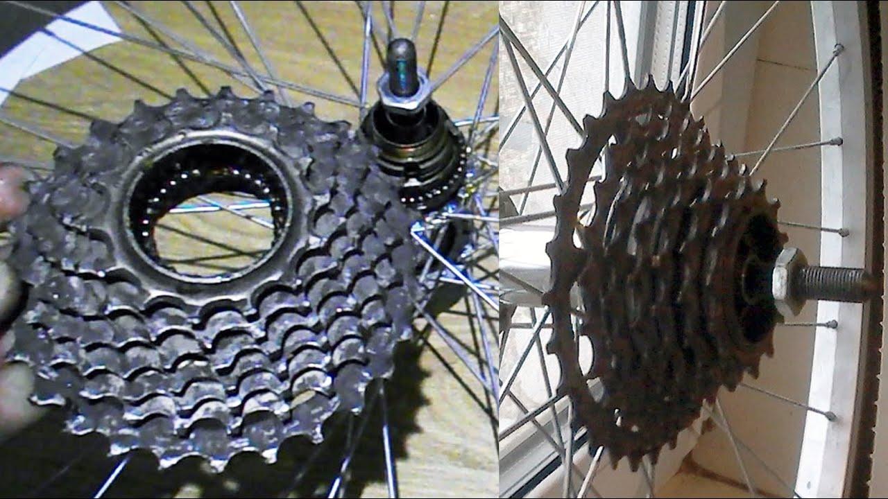 Задняя втулка колеса велосипеда, как разобрать, обслуживание - YouTube