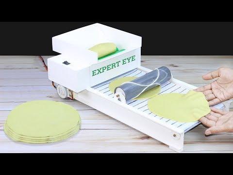 How To Make Roti Making Machine From PVC! DIY Tortilla Maker