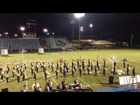 Tahlequah High School Orange Express finals performance @ Pryor Band Day 10-8-16