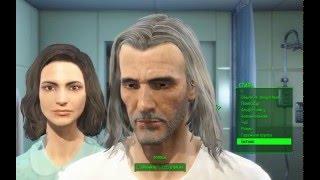 Fallout4: Создание Геральта( The Witcher)