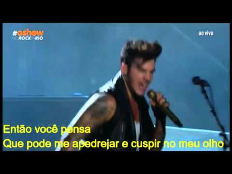 Queen + Adam Lambert   Bohemian Rhapsody   Rock In Rio 2015  Legendado PT