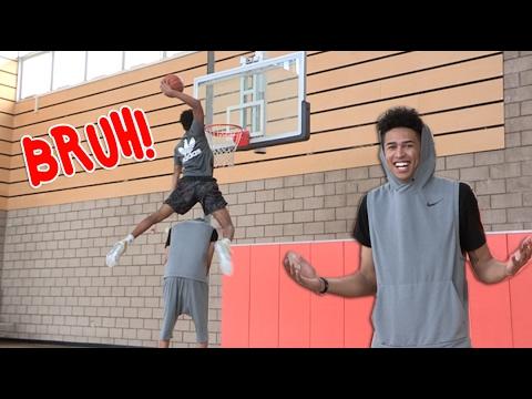 Jaylen Hands DUNKS OVER 6'10 Giraffe Kristopher London! CLEARS HIM EASY!