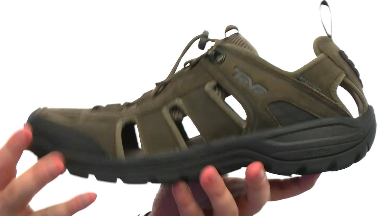 3124184de2564 Teva Kimtah Leather Sandal SKU  8318602 - YouTube