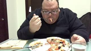 Il video della pizza a velocità regolare