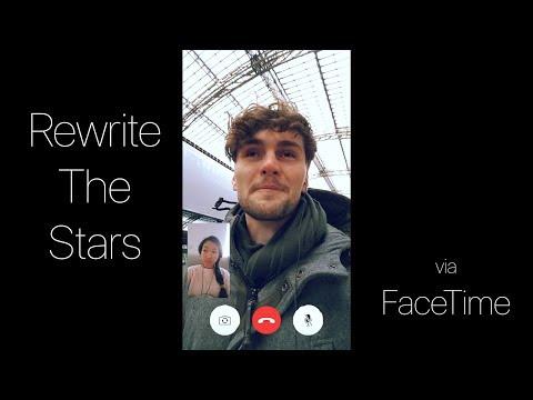 Zac Efron, Zendaya - Rewrite The Stars | Cover via FaceTime (Vertical Video)