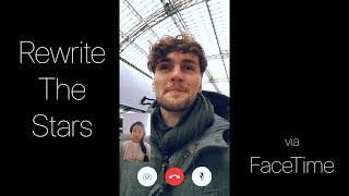 Download Lagu Zac Efron, Zendaya - Rewrite The Stars | Cover via FaceTime (Vertical Video) Mp3