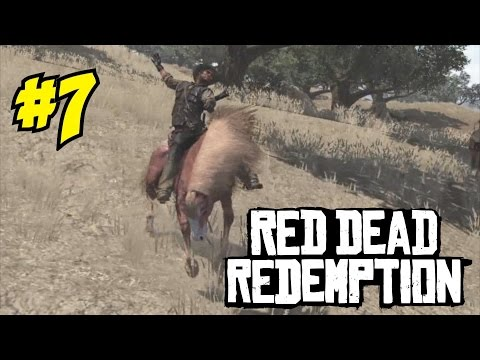 RED DEAD REDEMPTION ON PC GAMEPLAY / WALKTHROUGH (Episode 7) - TAMING WILD HORSES!
