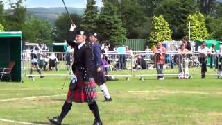Thomas Lorenzen - Dumbarton Scottish Pipe Band Championships 2013 [Drum Major]