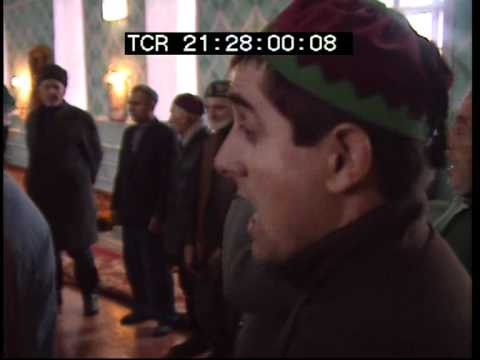 Chechen (Ingush) mystical Sufi ceremony