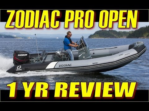 Zodiac Pro Open RIB Review:  1 Year Of Use