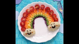 Оформление детских блюд How to get kids to  eat vegetable 30 ways (by internet )