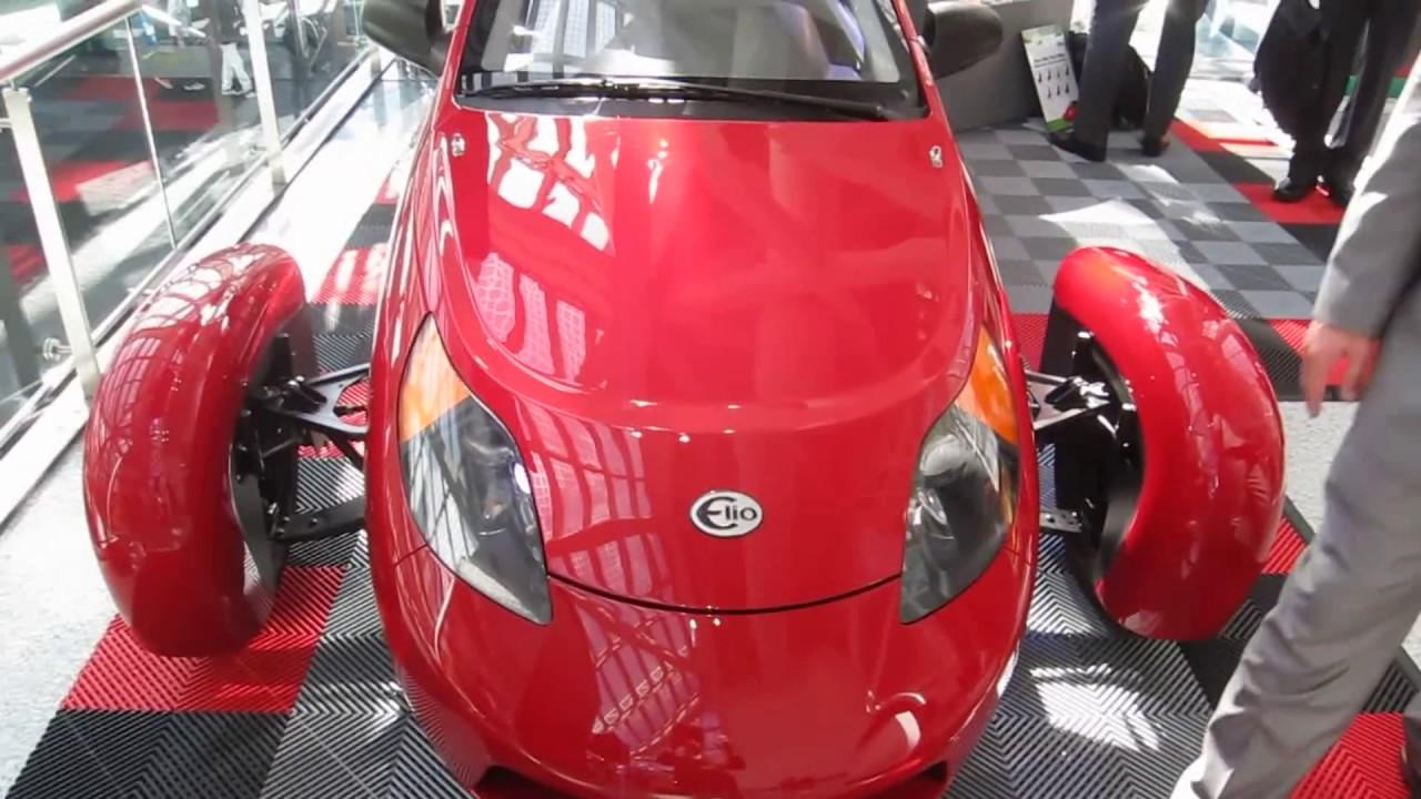 Elio P5 Three Wheeled Vehicle 85mpg For 7 300 2016 La Auto Show