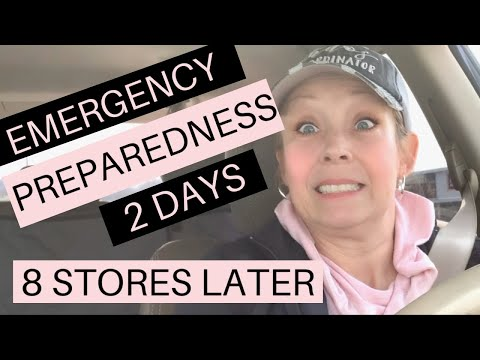 EMERGENCY PREPAREDNESS STOCKING UP ON HEALTHY FOOD OPTIONS