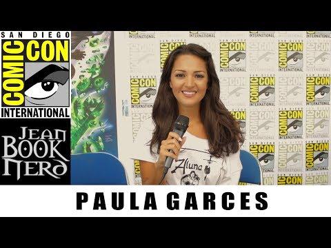 PAULA GARCES   THE WORLD OF ALUNA  San Diego Comic Con 2018  JeanBookNerd