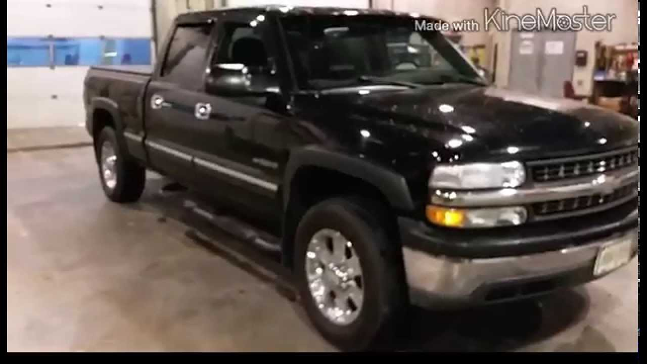 Chevy silverado 1500HD 6in lift kit 35in tires - YouTube