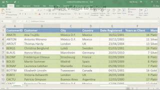 Apply Conditional Formatting to an Entire Row - Excel Tutorial