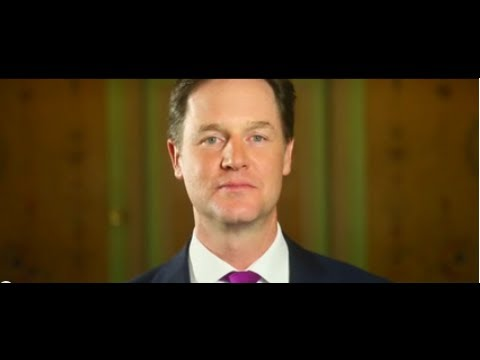 Nick Clegg welcomes the Jewish Manifesto