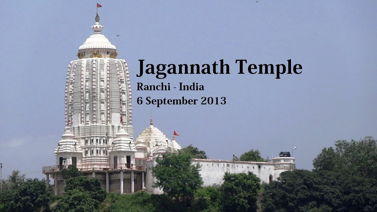 Jagannath Temple Ranchi Youtube