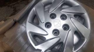 Бюджетна покраска колпаков на колёса