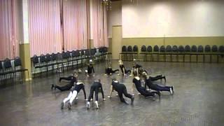 Урок эстрадного танца.Дети 6 лет.
