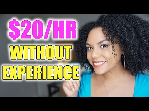 Work From Home Jobs With No Experience Needed 2020! Stay Home And Work!
