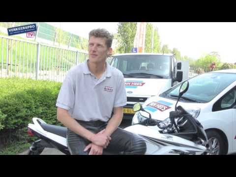 Rijtest Honda CBF125 A1-motorfiets als lesmotor (VerkeersProTV)