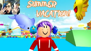 ROBLOX SUMMER VACATION OBBY   FINISHED   RADIOJH GAMES