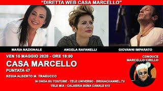 CASA MARCELLO CON MARIA NAZIONALE_ANGELA RAFANELLI_GIOVANNI IMPARATO 15 MAGGIO  2020