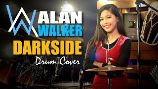 Alan Walker - Darkside feat Au/Ra and Tomine Harket Drum Cover by Nur Amira Syahira