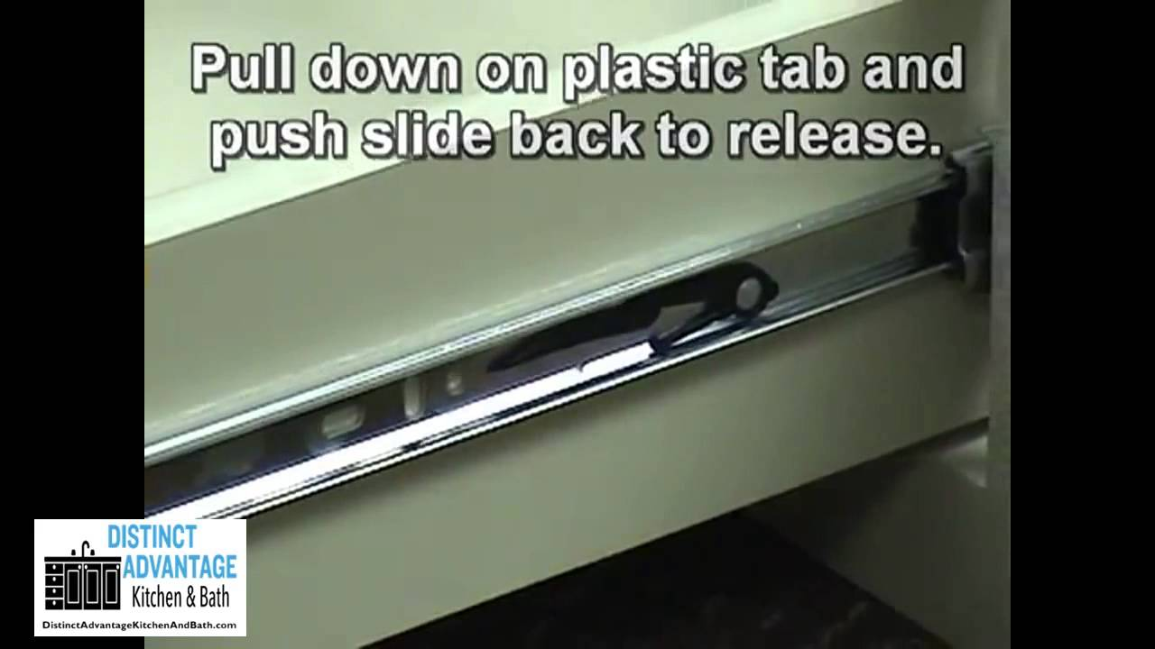 Distinct Advantage Kitchen and Bath - Roller Bearing Drawer Slide ...