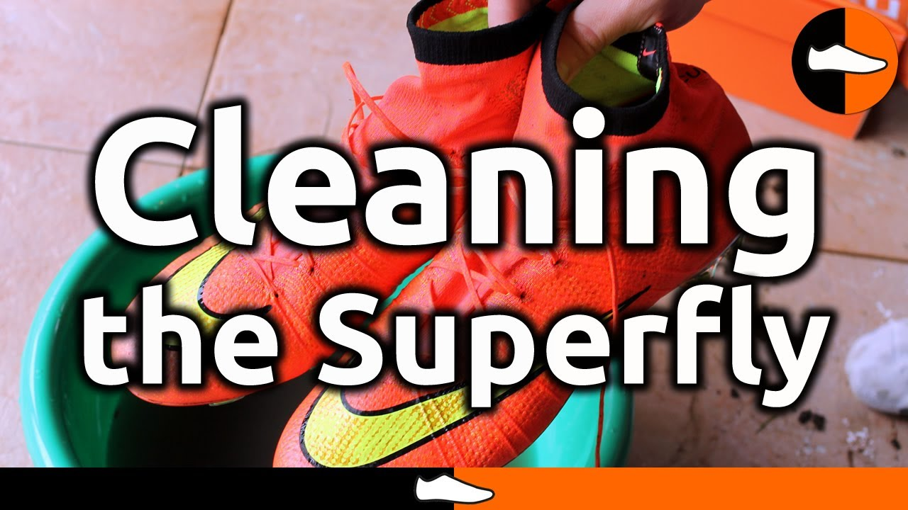 reputable site 1ab91 6585a How to Clean the Nike Mercurial Superfly - FootballBoots.co.uk - YouTube