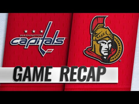 Lewington, Bowey net first goals in Capitals' 3-2 win