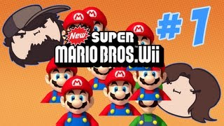 New Super Mario Bros Wii - I want DAT one! - PART 1 - Game Grumps thumbnail