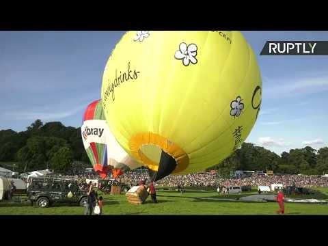 EN DIRECT : Suivez le rassemblement de dizaines de montgolfières colorées dans le ciel de Bristol