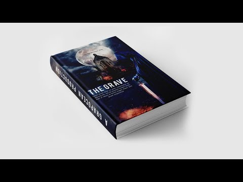How to Design Beautiful Book Cover | Photoshop CC Tutorial thumbnail