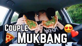 MUKBANG with my boyfriend - erster Kuss & Eifersucht /MissNici