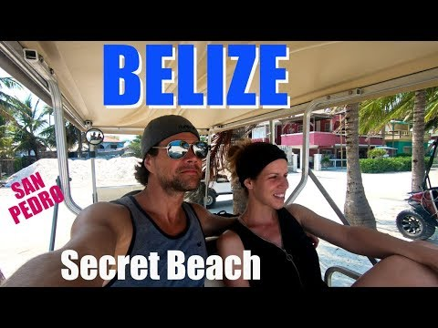 Backpacking Belize - Ambergris Caye - San Pedro - Secret Beach
