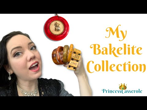My Vintage Bakelite Jewelry Collection (2019)