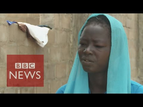 Boko Haram 'burnt my mother alive infront of me' - BBC News