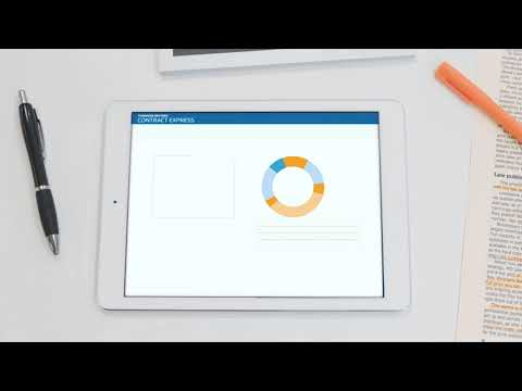 Improve consistency with Thomson Reuters Contract Express