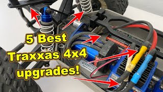 5 Best Traxxas Slash 4x4, Stampede 4x4, Rustler 4x4, Rally 4x4 upgrades