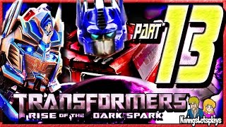 Transformers Rise of the Dark Spark Walkthrough Part 13 Lockdown Ending